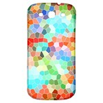 Colorful Mosaic  Samsung Galaxy S3 S III Classic Hardshell Back Case Front