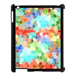 Colorful Mosaic  Apple iPad 3/4 Case (Black)