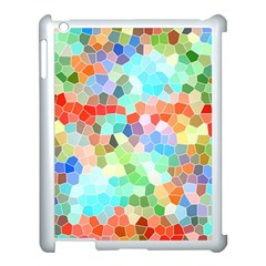 Colorful Mosaic  Apple Ipad 3/4 Case (white) by designworld65