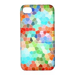 Colorful Mosaic  Apple Iphone 4/4s Hardshell Case With Stand by designworld65
