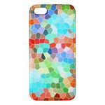 Colorful Mosaic  Apple iPhone 5 Premium Hardshell Case