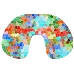 Colorful Mosaic  Travel Neck Pillows