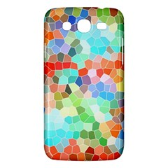 Colorful Mosaic  Samsung Galaxy Mega 5 8 I9152 Hardshell Case  by designworld65