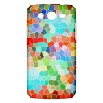 Colorful Mosaic  Samsung Galaxy Mega 5.8 I9152 Hardshell Case