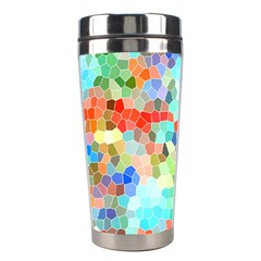 Colorful Mosaic  Stainless Steel Travel Tumblers by designworld65