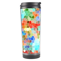 Colorful Mosaic  Travel Tumbler