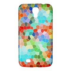 Colorful Mosaic  Samsung Galaxy Mega 6 3  I9200 Hardshell Case by designworld65