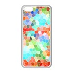 Colorful Mosaic  Apple iPhone 5C Seamless Case (White)