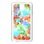 Colorful Mosaic  Samsung Galaxy Note 3 N9005 Case (White)