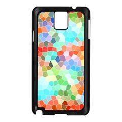 Colorful Mosaic  Samsung Galaxy Note 3 N9005 Case (black)
