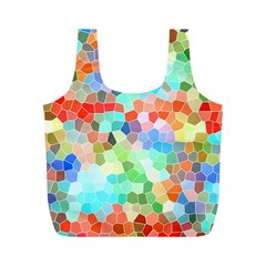 Colorful Mosaic  Full Print Recycle Bags (m)  by designworld65