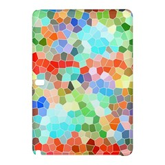 Colorful Mosaic  Samsung Galaxy Tab Pro 10 1 Hardshell Case by designworld65