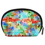 Colorful Mosaic  Accessory Pouches (Large)  Back