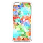 Colorful Mosaic  Apple iPhone 6 Plus/6S Plus Enamel White Case Front