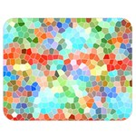 Colorful Mosaic  Double Sided Flano Blanket (Medium)  60 x50 Blanket Front
