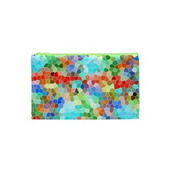 Colorful Mosaic  Cosmetic Bag (xs) by designworld65