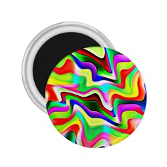 Irritation Colorful Dream 2 25  Magnets by designworld65