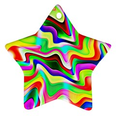 Irritation Colorful Dream Ornament (Star)