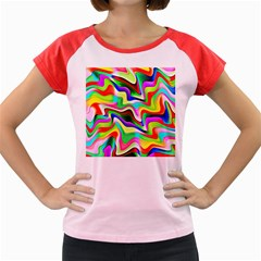 Irritation Colorful Dream Women s Cap Sleeve T Shirt by designworld65