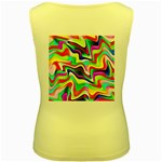 Irritation Colorful Dream Women s Yellow Tank Top Back