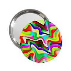 Irritation Colorful Dream 2 25  Handbag Mirrors