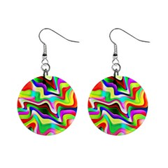 Irritation Colorful Dream Mini Button Earrings