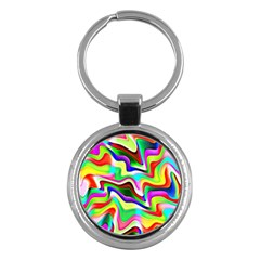 Irritation Colorful Dream Key Chains (Round)