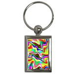 Irritation Colorful Dream Key Chains (Rectangle)  Front