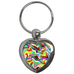 Irritation Colorful Dream Key Chains (Heart)