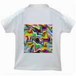 Irritation Colorful Dream Kids White T-Shirts Back