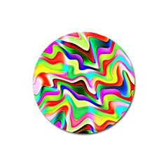 Irritation Colorful Dream Magnet 3  (round) by designworld65