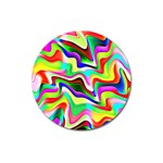 Irritation Colorful Dream Magnet 3  (Round) Front
