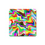 Irritation Colorful Dream Square Magnet Front
