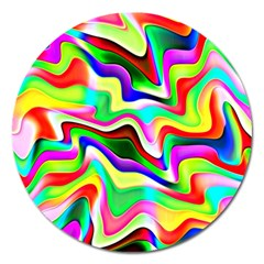 Irritation Colorful Dream Magnet 5  (round)