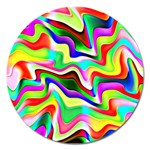Irritation Colorful Dream Magnet 5  (Round) Front