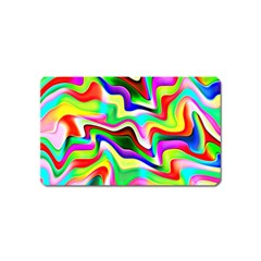 Irritation Colorful Dream Magnet (name Card) by designworld65