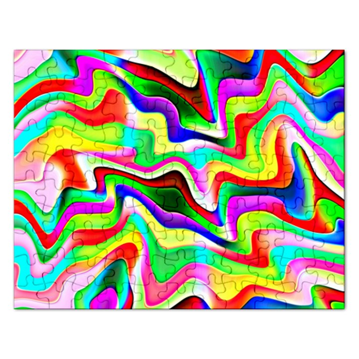Irritation Colorful Dream Rectangular Jigsaw Puzzl