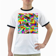 Irritation Colorful Dream Ringer T-Shirts