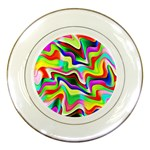 Irritation Colorful Dream Porcelain Plates