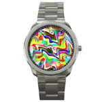 Irritation Colorful Dream Sport Metal Watch Front