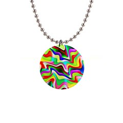 Irritation Colorful Dream Button Necklaces