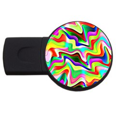 Irritation Colorful Dream USB Flash Drive Round (4 GB)