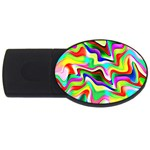 Irritation Colorful Dream USB Flash Drive Oval (4 GB)  Front