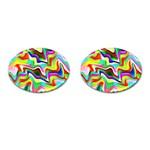 Irritation Colorful Dream Cufflinks (Oval)