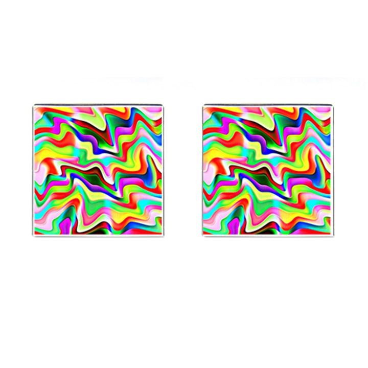 Irritation Colorful Dream Cufflinks (Square)