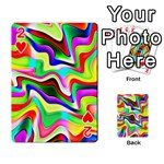 Irritation Colorful Dream Playing Cards 54 Designs  Front - Heart2