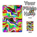 Irritation Colorful Dream Playing Cards 54 Designs  Front - Heart6