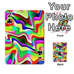 Irritation Colorful Dream Playing Cards 54 Designs  Front - Club2