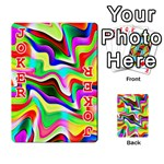 Irritation Colorful Dream Playing Cards 54 Designs  Front - Joker2