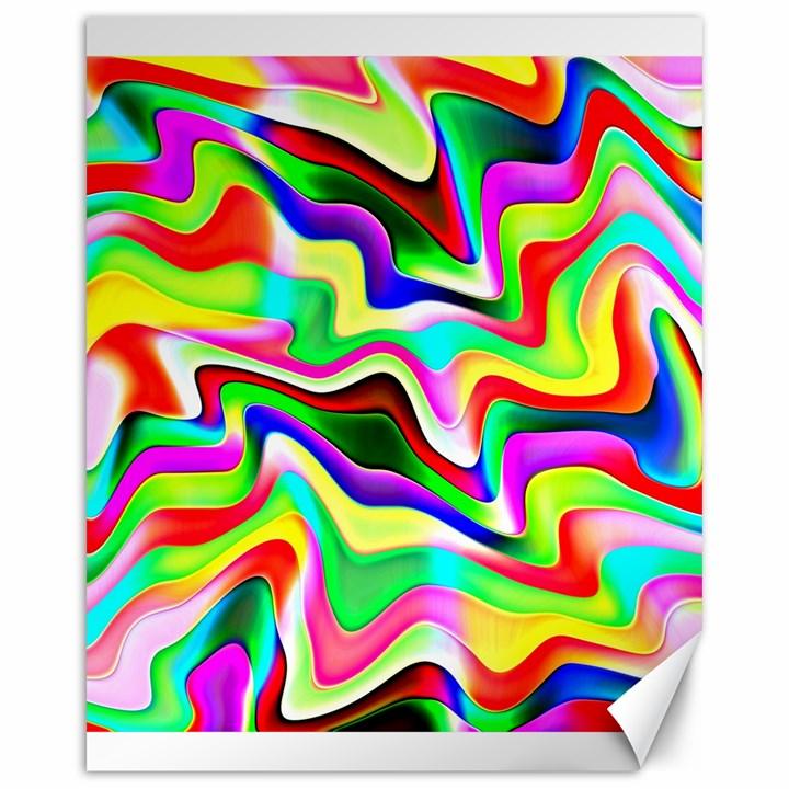 Irritation Colorful Dream Canvas 16  x 20
